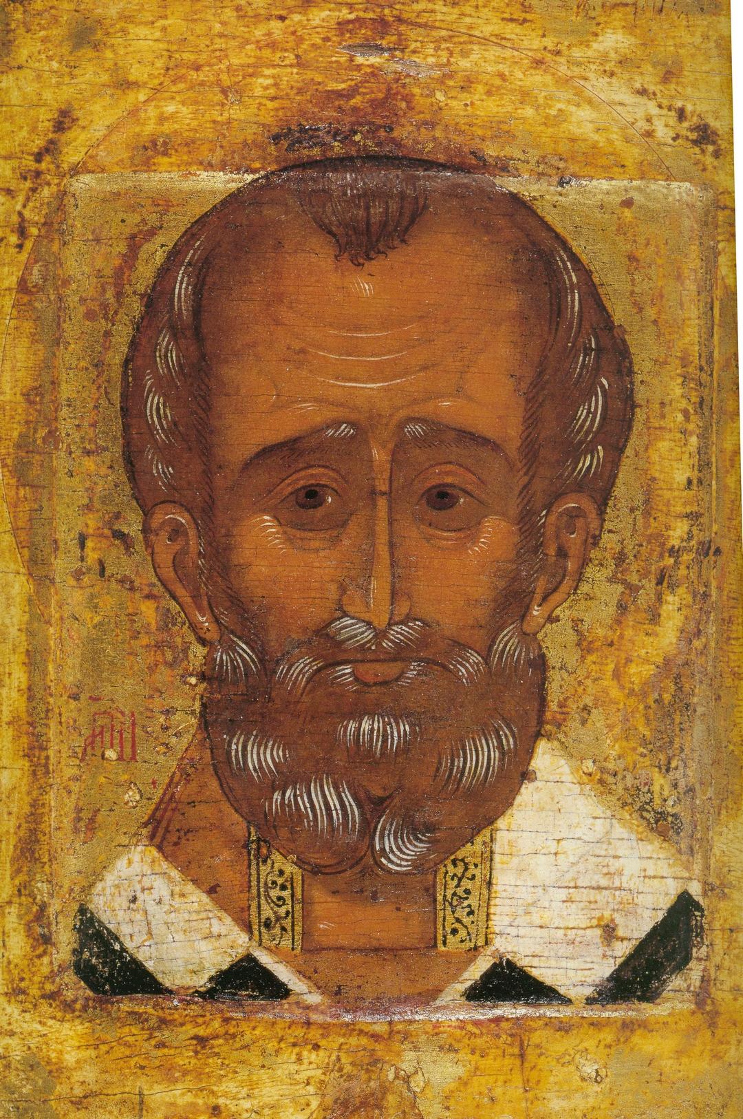 Святитель Николай Чудотворец  (1540 год, Москва, Великокняжеские мастерские)
