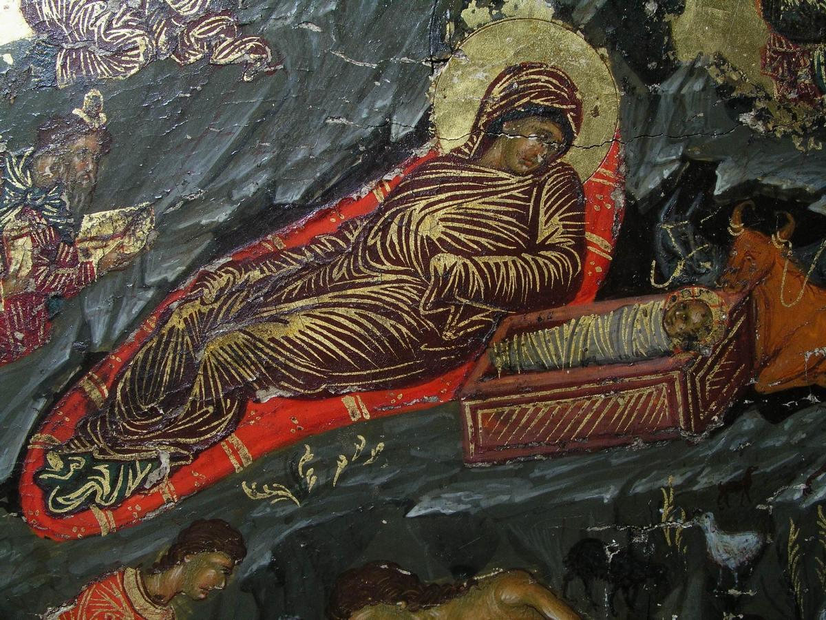 Рождество Христово. Кипр. Монастырь Святого Иоанна