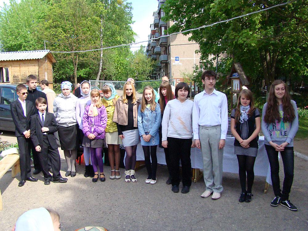 Выпускной воскресной школы 2011