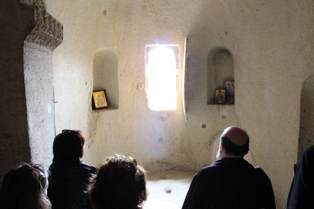 14 Пещерная церковь святого Георгия Ургюп алтарь
