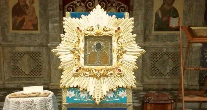 Встречаем икону Божией Матери Жировицкую 20 июля 2018 года Гродненская епархия приняла великую святыню — чтимую копию Жировицкой иконы Божией Матери.Подробнее