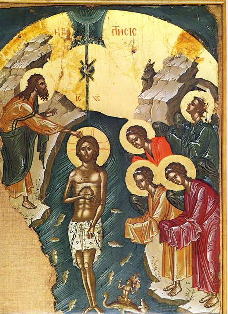 богоявление крещение феофан критский-1