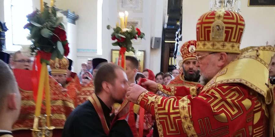 Поздравляем отца Виталия с первой наградой От всей души поздравляем нашего священника отца Виталия Латышева с его первой иерархической наградой за ревностное служение Церкви — набедренником!Подробнее