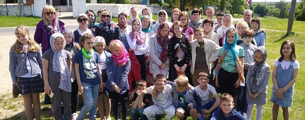 Паломническая поездка воскресной школы по Щучинскому благочинию подробнее