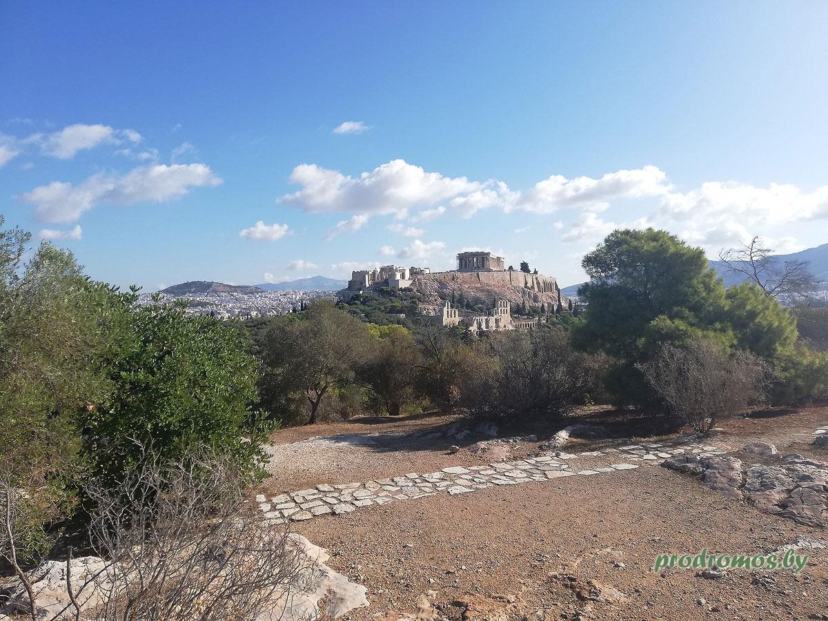 Античный храм Гефеста