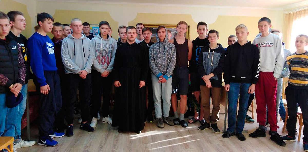 Священник встретился с учащимися электротехнического колледжа г. ГродноПодробнее