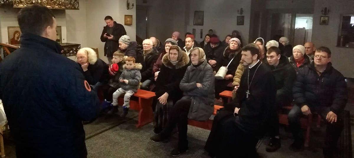 Братчики православного общества трезвости «Покровское» посетили наш приходПодробнее