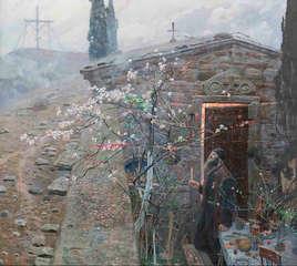 Павел-Рыженко-Пасха-Воскресение-Афон