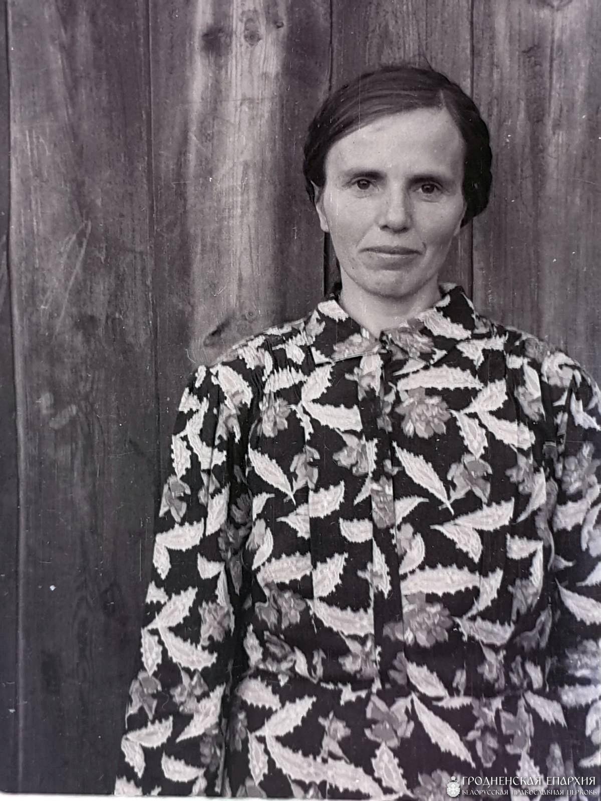 Бабушка Варвара Федоровна в молодости.