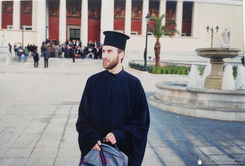 День принятия присяги по случаю окончания университета, Афины. 1999 год.